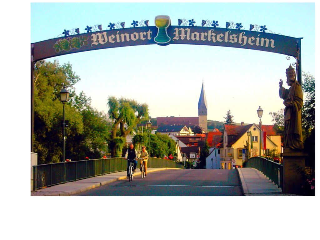 Brücke Weinort Markelsheim